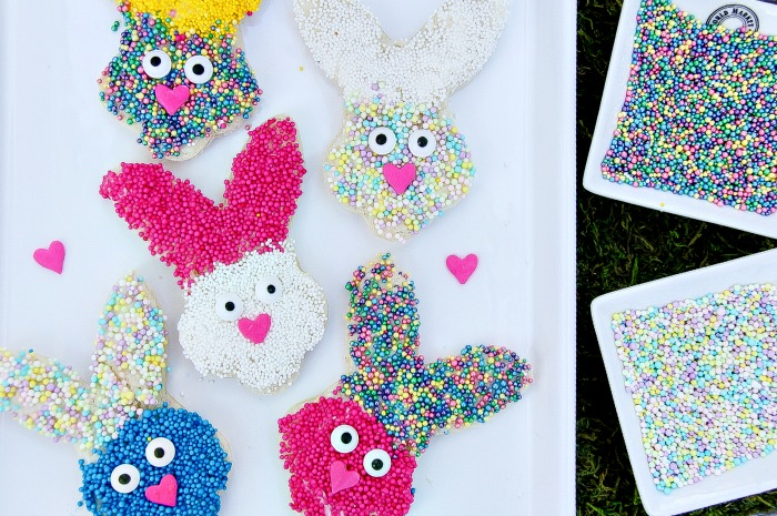 Spring Bunny Treats For Kids – Easter Fairy Bread