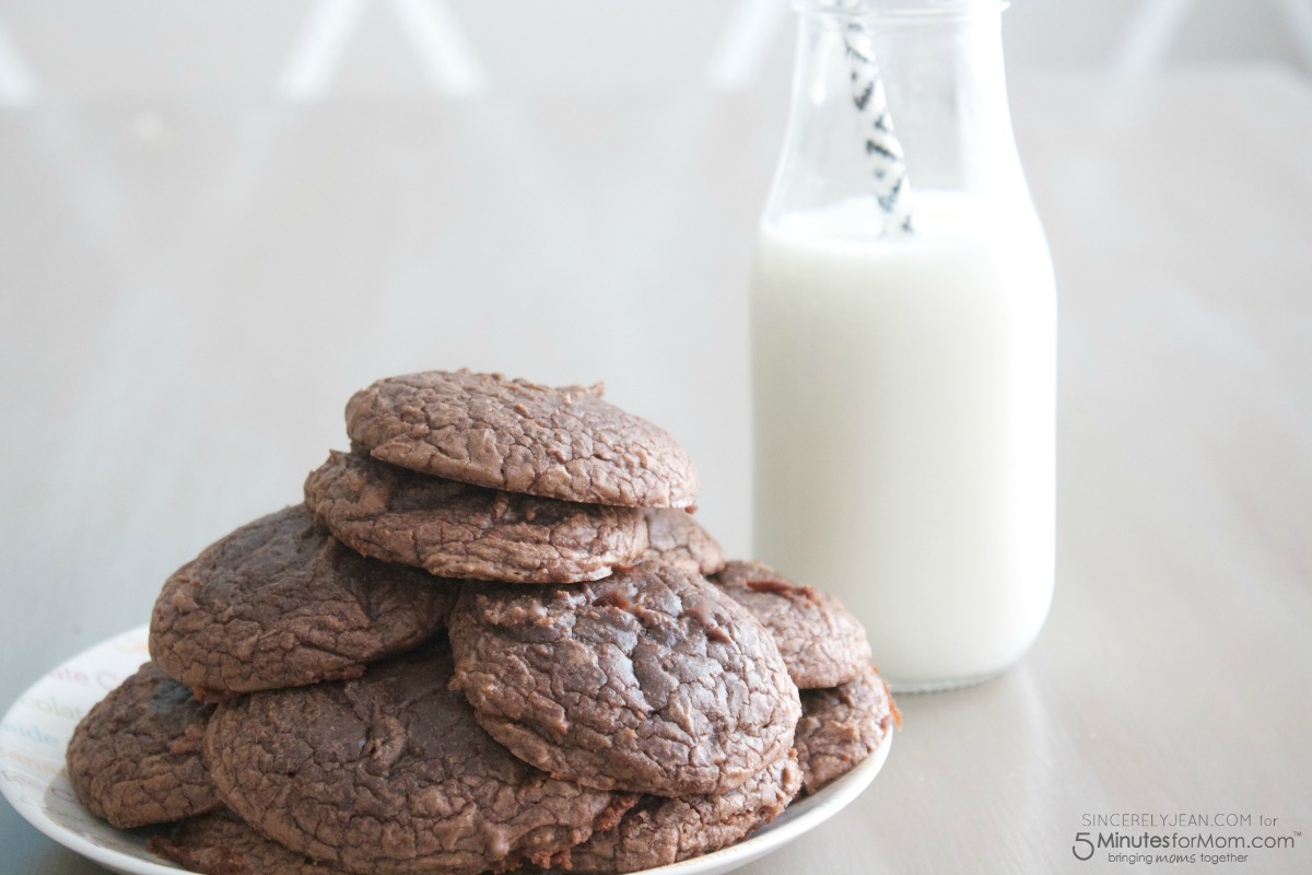 Brownie Cookies From A Box