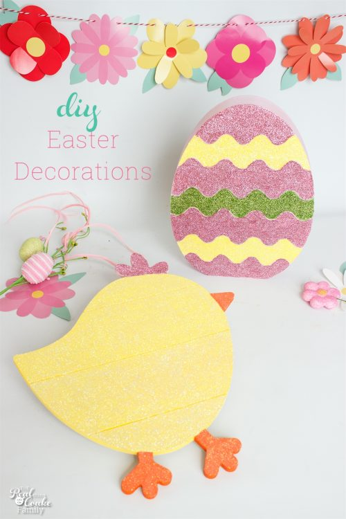 Corlorful and Easy DIY Easter Decorations