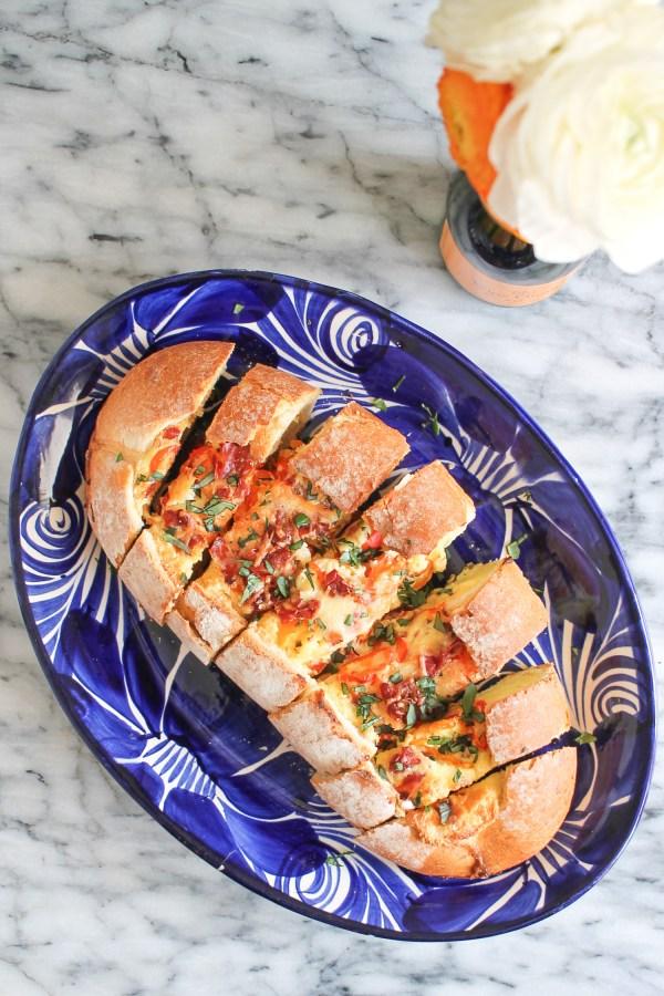 Breakfast Bread Boat