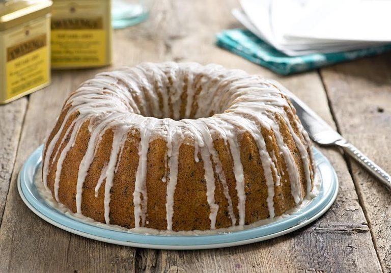 Glazed Earl Grey Bundt Cake Recipe