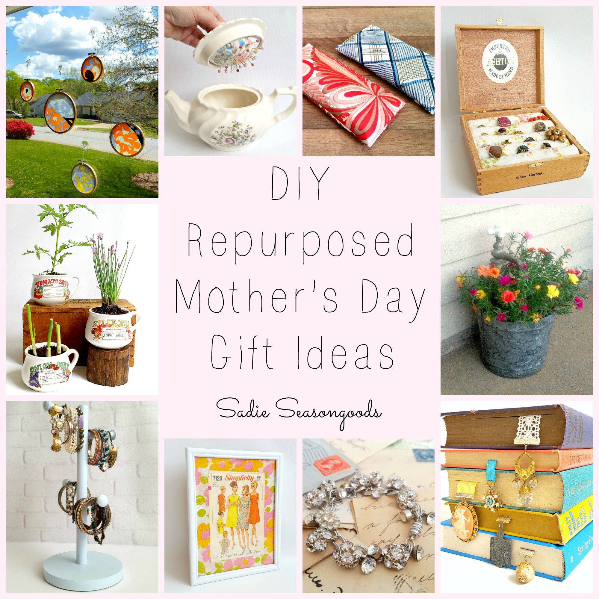 Upcycled Mother's Day Gift Ideas