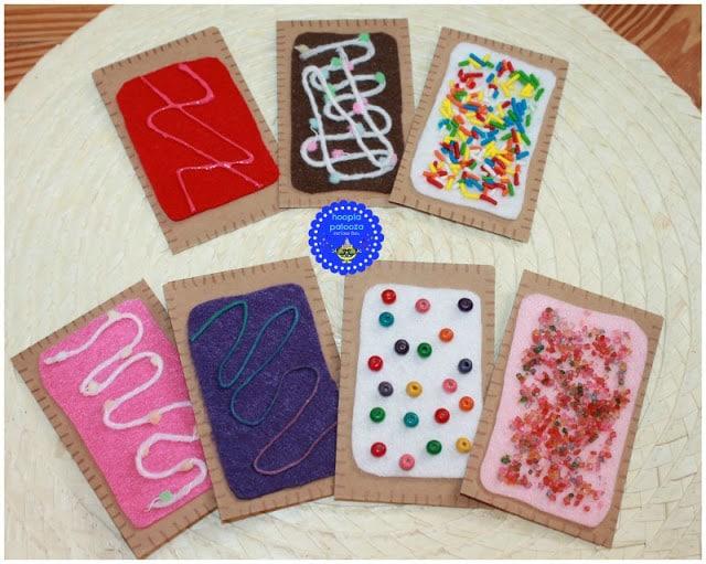 mini pop tart goodie bags