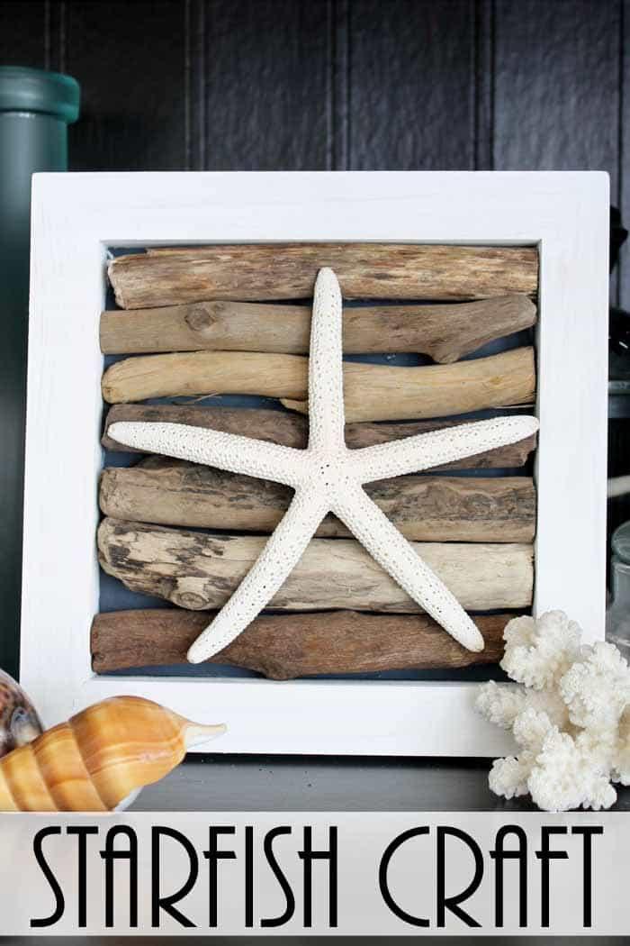 Starfish Craft: Easy Beach Wall Art