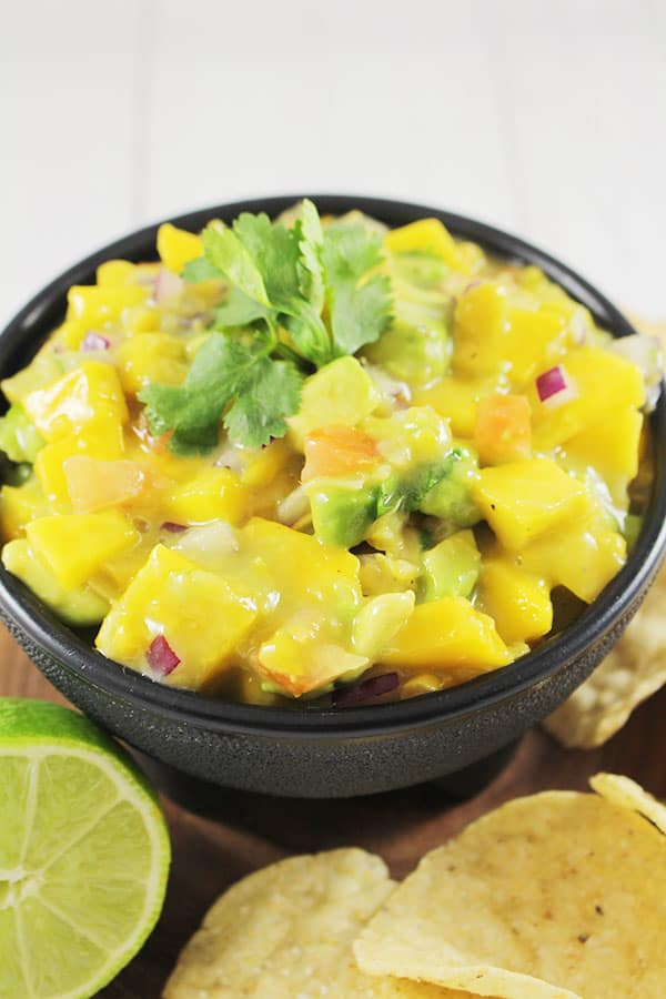 Light and Easy Mango Salsa