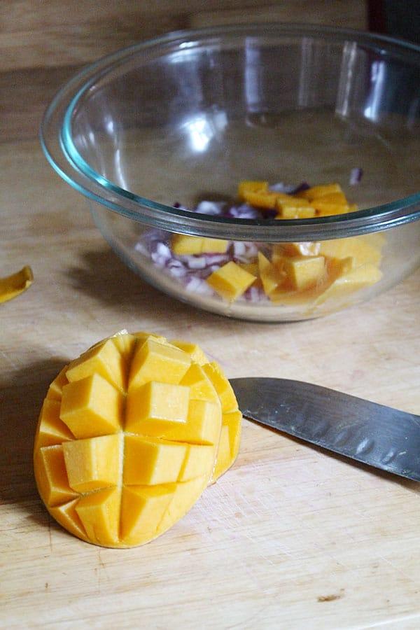 Light & Easy Mango Salsa