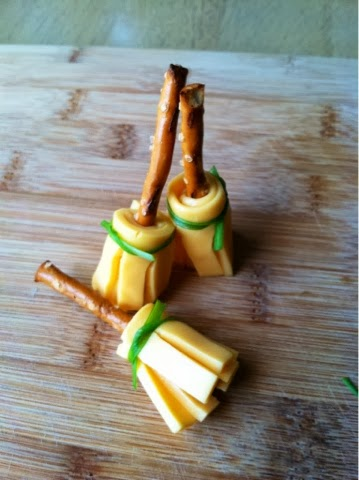 Harry Potter Pretzel Cheese Brooms Savvy In The Kitchen